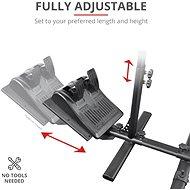 Trust GXT 1150 Pacer Racing Seat Adapter - Gamer szék kiegészítő