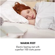 Klarstein Dr. Watson Heatzone XL, szürke - Ágymelegítő