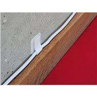 LABEL THE CABLE 3120 Wall kábelkötegelő falra WT, 10 db - Kábelrendező