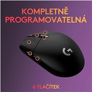 Logitech G305 Recoil fekete - Gamer egér