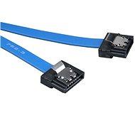 AKASA PROSLIM SATA kék 0,15 méter - Adatkábel
