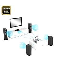 AKASA PROSLIM HDMI - HDMI 2 méter - Videokábel