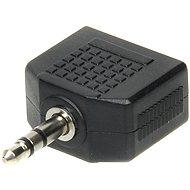 OEM audio 3.5mm JACK --> 2x 3.5mm JACK - Elosztó