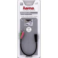 Hama audió 2x 3.5mm jack - 3.5mm jack átalakító - Átalakító