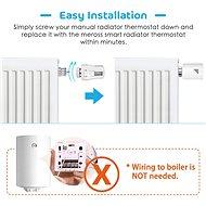 Meross Smart Thermostat Valve - Termosztátfej