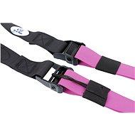 Sharp Shape akasztható erősítő készlet formázott markolattal - rózsaszín - Felfüggeszthető edzőheveder