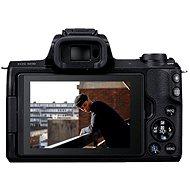Canon EOS M50 váz fekete - Digitális fényképezőgép