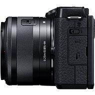 Canon EOS M6 Mark II + 15-45 mm webkamera készlet fekete - Digitális fényképezőgép