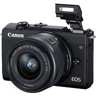 Canon EOS M200 + EF-M 15-45mm IS STM webkamera készlet fekete - Digitális fényképezőgép