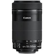 Canon EF-S 55-250mm F4.0 - 5.6 IS STM + ET-63 - Objektív