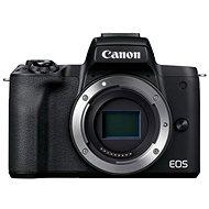 Canon EOS M50 Mark II fekete + EF-M 15-45 mm IS STM - Digitális fényképezőgép