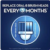 Oral-B FlossAction pótfej elektromos fogkeféhez 4 darabos kiszerelés - Pótfej