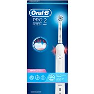 Oral-B Pro 2 Sensi Ultra Thin White Handle - Elektromos fogkefe