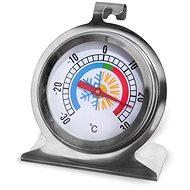 Rozsdamentes acél/üveg hőmérő hűtőszekrénybe - Konyhai hőmérő