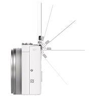 Sony CyberShot DSC-WX500 fehér - Digitális fényképezőgép