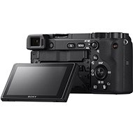 Sony Alpha A6400 + 16-50 mm-es fekete Vlogger Kit - Digitális fényképezőgép