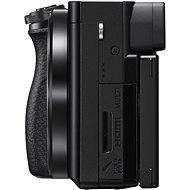 Sony Alpha A6100 fekete színű + 16-50 mm f/3.5-5.6 OSS SEL + 55-210mm f/4.5-6.3 SEL - Digitális fényképezőgép