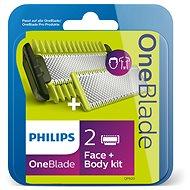 Philips OneBlade Cserepenge archoz és testhez + testfésű QP620/50 - Férfi borotvabetét