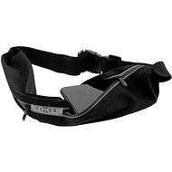 FIXED Sportbelt Duo két zsebbel fekete - Mobiltelefon tok