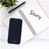 FIXED Story Huawei P40 Lite E készülékhez kék - Telefon hátlap