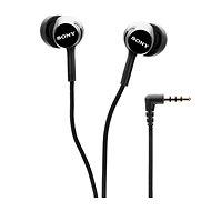 Sony MDR-EX155AP, fekete - Fej-/fülhallgató