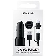 Samsung Dual autós töltő gyorstöltés támogatással (15W) - Autós töltő