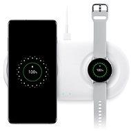 Samsung Dual Wireless Charging Pad EP-P5200TBEGWW Black - Vezeték nélküli töltő