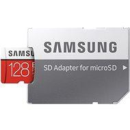 Samsung MicroSDXC 128 GB EVO Plus UHS-I U3 + SD adapter - Memóriakártya