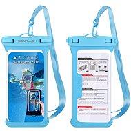 """Seaflash vízálló TPU tok legfeljebb 6,5""""-es okostelefonokhoz - kék - Mobiltelefon tok"""
