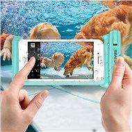 """Seaflash Vízálló TPU tok max. 6,5""""-es okostelefonokhoz - rózsaszín - Mobiltelefon tok"""