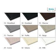 SINKS MIX 3 P mosogató csaptelep - Titanium (72) - Csaptelep