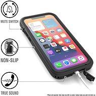 Catalyst Total Protection Black iPhone 12 Pro Max - Telefon hátlap