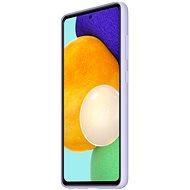 Samsung szilikon tok a Galaxy A52 készülékhez ibolya - Telefon hátlap