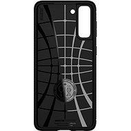 Spigen Rugged Armor Black Samsung Galaxy S21 - Telefon hátlap