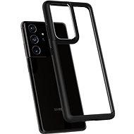 Spigen Ultra Hybrid Fekete Samsung Galaxy S21 Ultra - Telefon hátlap