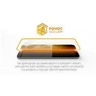 Tempered Glass Protector Samsung Galaxy A72-höz, keretes, fekete + üveg a kamerára - Üvegfólia