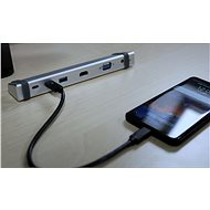 EVOLVEO USB-MultiPort 1 - 10Gbs - Port replikátor