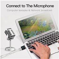 Vention USB External Sound Card Black Metal Type - Külső hangkártya