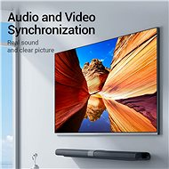 Vention Mini DisplayPort (miniDP) to HDMI Converter 0,15 m Black - Átalakító