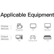 Vention HDMI to DVI Cable 1 m Black - Videokábel