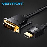 Vention HDMI to DVI Cable 3 m Black - Videokábel