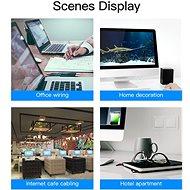 Vention CAT5e UTP Patch Cord Cable 15m Blue - Hálózati kábel