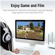 Vention Cat.7 FTP Patch Cable 10M Gray - Hálózati kábel