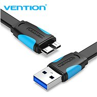 Vention USB 3.0 (M) to Micro USB-B (M) 0,25m Black - Adatkábel