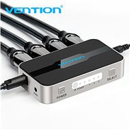 Vention 3 In 1 Out HDMI Switcher With Audio Separation Gray Metal Type - Switch