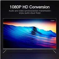 Vention VGA to HDMI Converter with Female Micro USB and Audio Port 0,15 m Black - Átalakító