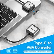 Vention Type-C (USB-C) to VGA Converter - Átalakító