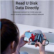 Vention Micro USB (M) to USB (F) OTG Cable 0.15 M Black PVC Type - Átalakító