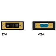 Vention VGA Female to DVI Male Adapter - fekete - Átalakító