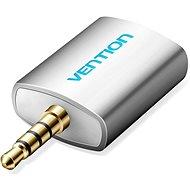 Vention 3.5mm Jack Male to 2x 3.5mm Female Audio Splitter Silvery - Elosztó